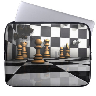 King Chess Play Laptop Sleeve