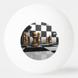King Chess Play Ping Pong Ball