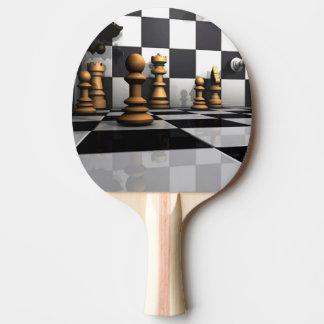 King Chess Play Ping Pong Paddle