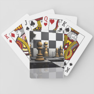 King Chess Play Playing Cards