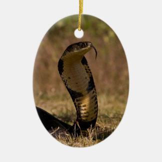 King Cobra Ceramic Ornament