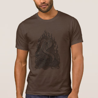 King Cobra On Fire T Shirt