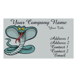 King Cobra Pack Of Standard Business Cards