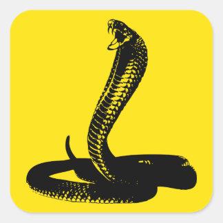 King Cobra snake sticker
