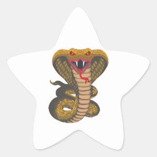 King Cobra Star Sticker