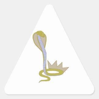 King Cobra Triangle Sticker