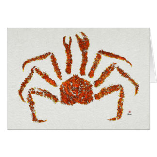 "King Crab - 7"" x 5"" Art Card"