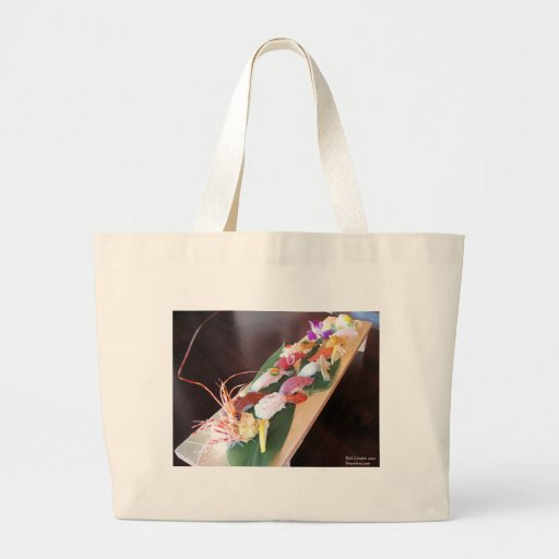 King Crab/Tuna Sushi Womens Gifts & Cards Tote Bags