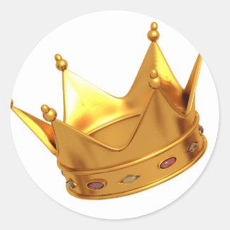 King Crown Sticker
