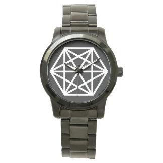 King (-) / Custom Oversized Black Bracelet Watch