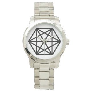 King (+) / Custom Oversized Silver Bracelet Watch