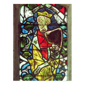 King David, 14th century Postcard