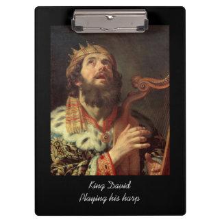 King David Playing His Harp Clipboard