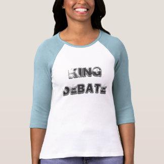King Debate Baseball T (Women) Shirt