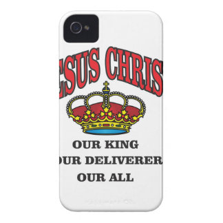 king deliverer all jc iPhone 4 covers