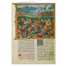 King Edward III Waging War at the Battle of Card