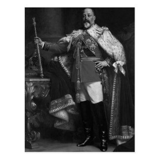 King Edward VII Postcard