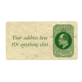 King Edward VII Prepaid Envelope Postage Stamp
