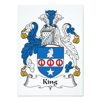 King Family Crest Announcement
