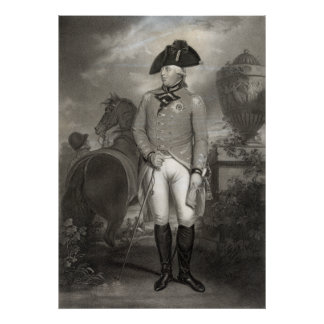 King George III poster/print Poster