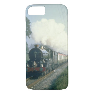 King George V works BR's return_Steam Trains iPhone 7 Case