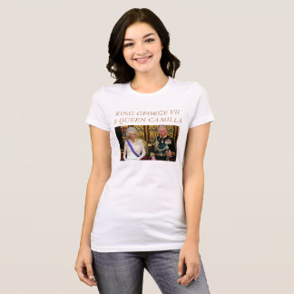 KING GEORGE VII and QUEEN CAMILLA T-Shirt