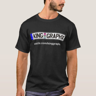King Graphx Euro Plate T-Shirt