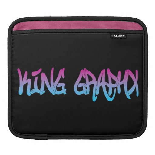 King Graphx iPad Sleeve