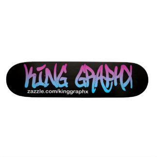 King Graphx Logo Skateboard Mini