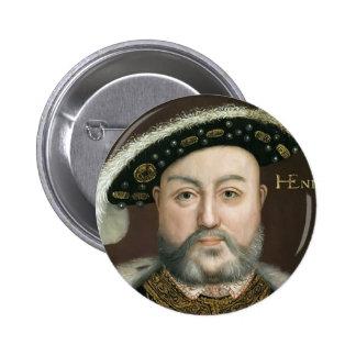 King Henry VIII 6 Cm Round Badge