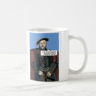 King Henry VIII comedy mug