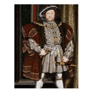 King Henry VIII of England Postcard