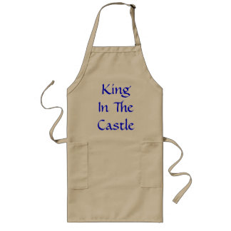 King In The Castle Long Apron