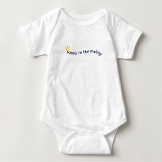 King in the making! baby bodysuit