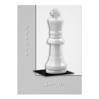 King Personalized Invites