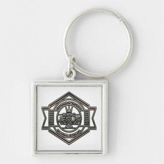 King Jesus Christian Premium Square Key Chain