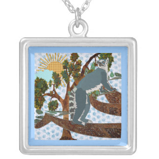 King Julian Blue Rosie Day Necklace