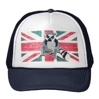 King Julian Flag Lid Cap