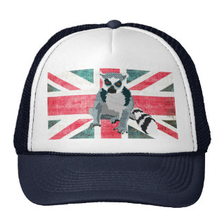 King Julian Flag Lid Hat