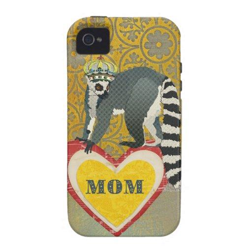 King Julian Heart Mum iPhone Case
