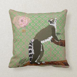 King Julian Pink & Jade Boho Damask Mojo Pillow Cushion