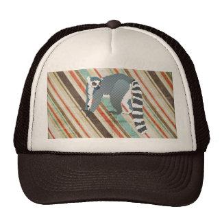King Julian Vintage Stripes Lid Hat