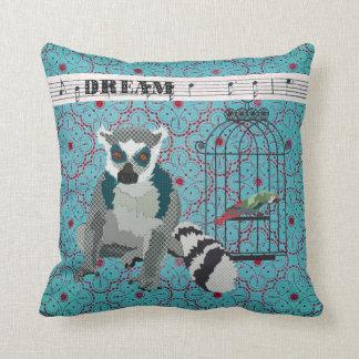 King Jullian Boho Blue Dream Mojo Pillow Cushion