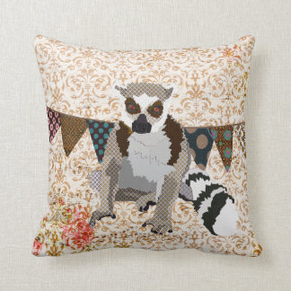 King Jullian Golden Damask Mojo Pillow Cushions