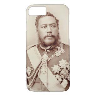 King Kalakaua (1836-91), late c19th (sepia photo) Case-Mate iPhone Case
