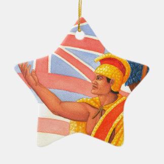 King Kamehameha the Great Ceramic Ornament