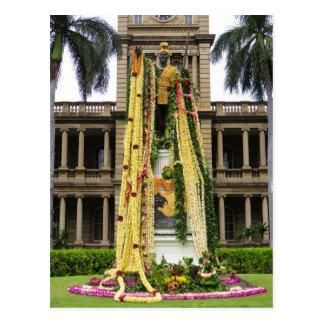 King Kamehameha the Great Postcard