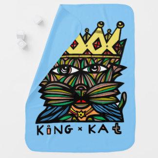 """""""King Kat"""" Baby Blanket"""