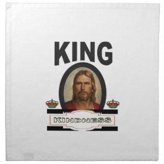 king kindness lord napkin
