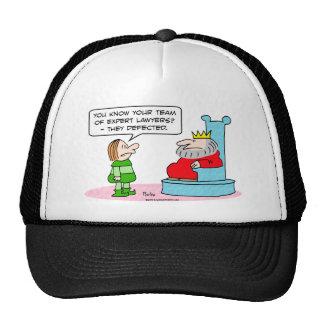 king lawyers expert defected trucker hats